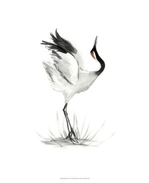 Japanese Cranes I by Naomi McCavitt