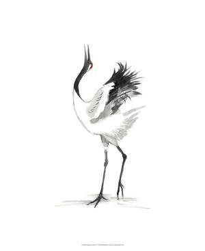 Japanese Cranes IV by Naomi McCavitt