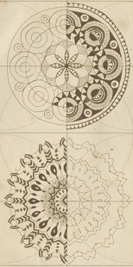 Sacred Geometry Sketch II by Naomi McCavitt