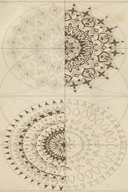 Sacred Geometry Sketch III by Naomi McCavitt