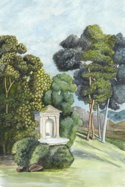 Scenic French Wallpaper I by Naomi McCavitt