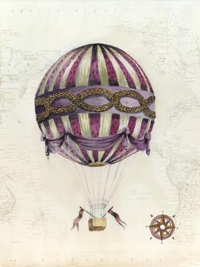 Vintage Hot Air Balloons I by Naomi McCavitt