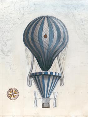 Vintage Hot Air Balloons IV by Naomi McCavitt