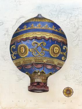 Vintage Hot Air Balloons V by Naomi McCavitt