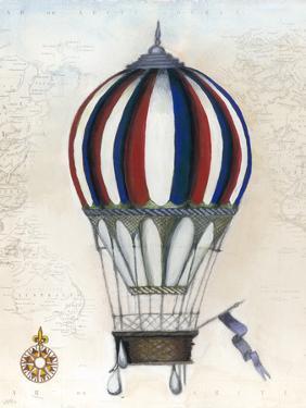 Vintage Hot Air Balloons VI by Naomi McCavitt