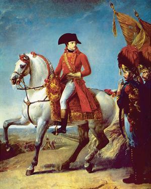 Napoleon after the Battle of Marengo