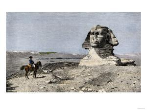Napoleon and the Sphinx at the Time of the French Invasion of Egypt, c.1798