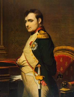 Napoleon as Emperor in His Study Circa 1807