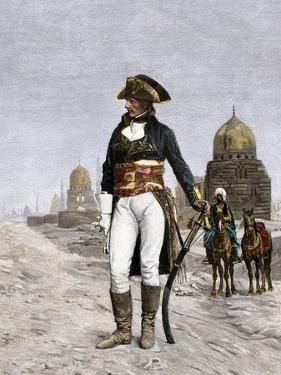 Napoleon Bonaparte at Cairo during His Invasion of Egypt, c.1798