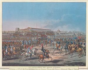 Napoleon et la Garde d'Honneur de Milan