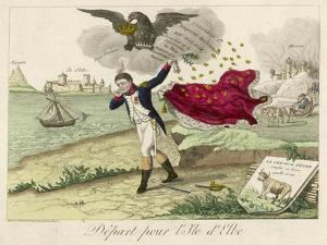 Napoleon Exiled to Elba, a French View