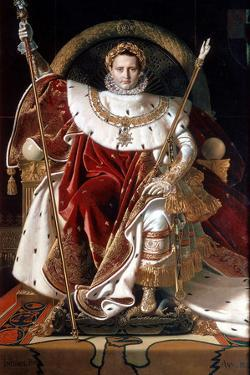 Napoleon on His Imperial Throne, 1804