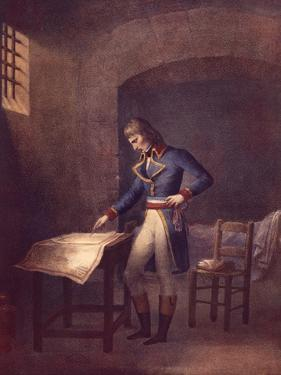 Napoleon Prisoner at Fort Carre in Antibes in August 1794, French Revolution, France 18th Century