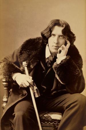Oscar Wiide, Irish Writer, Wit and Playwright, 1882