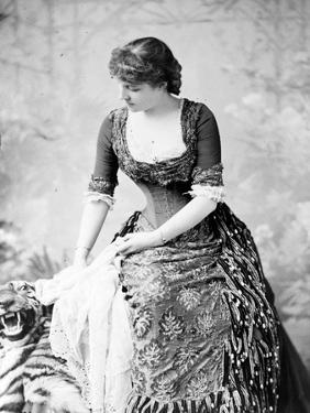 Portrait of Lillie Langtry, C.1882 by Napoleon Sarony