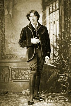 Portrait of Oscar Wilde C. 1882