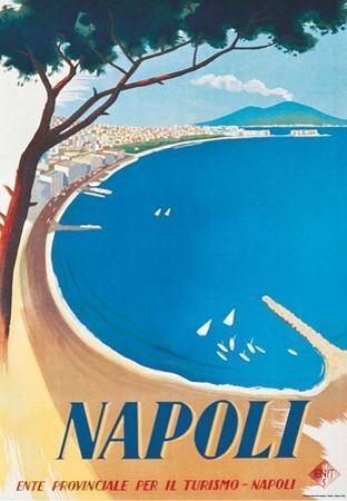 Napoli- Vintage Travel Poster