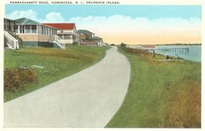 Narragansett Road, Prudence Island, Rhode Island