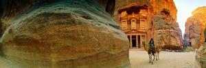 Narrow Passageway at Al Khazneh, Petra, Jordan