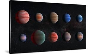 NASA Artist Impression of Hot Jupiter Exoplanets - Unannotated