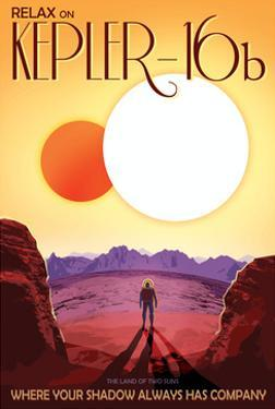 NASA/JPL: Visions Of The Future - Kepler-16B