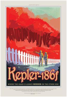 NASA/JPL: Visions Of The Future - Kepler-186F