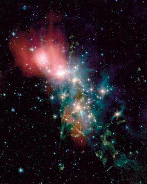 NASA - NGC1333 Chaotic Star Birth