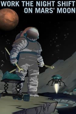 Work The Night Shift by NASA