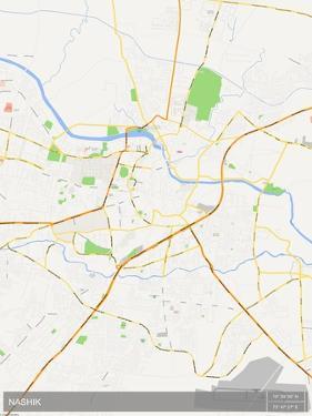 Nashik, India Map