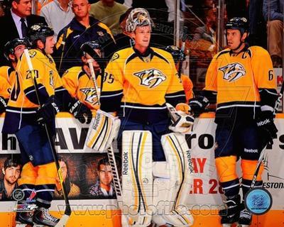 Nashville Predators - Ryan Suter, Pekka Rinne, Shea Weber Photo