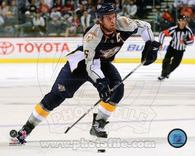 Nashville Predators Shea Weber 2010-11 Action