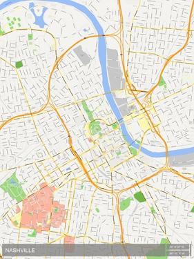Nashville, United States of America Map