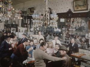 Crystal Bar, Virginia City, Nevada, 1945 by Nat Farbman