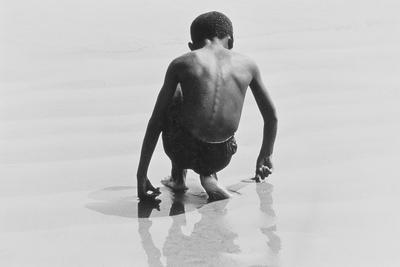Boy Playing in the Sand at Coney Island, Untitled 30, c.1953-64