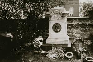 Edgar Allan Poe's (1809-49) Grave, Baltimore, Untitled 28, c.1953-64 by Nat Herz