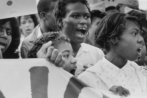 The March on Washington: A Group from Detroit, 28th August 1963 by Nat Herz