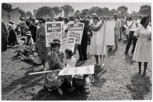 The March on Washington: At Washington Monument Grounds, 28th August 1963 by Nat Herz