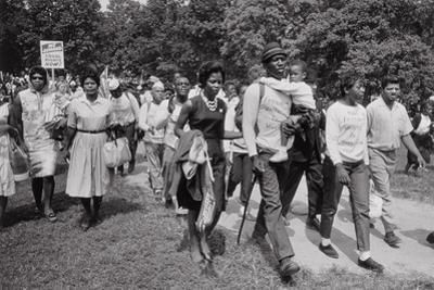 The March on Washington: Freedom Walkers, 28th August 1963 by Nat Herz