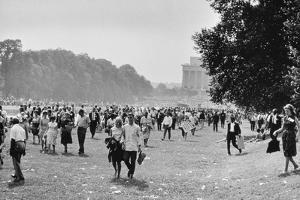 The March on Washington: Heading Home, 28th August 1963 by Nat Herz