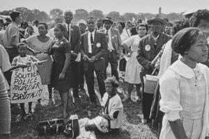 The March on Washington: Washington Monument Grounds, 28th August 1963 by Nat Herz