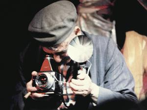Weegee (Arthur H. Fellig) (1899-1968) in Action by Nat Herz