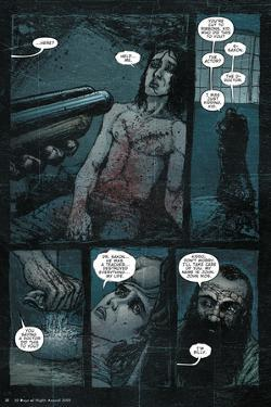 30 Days of Night: Three Tales - Comic Page with Panels by Nat Jones