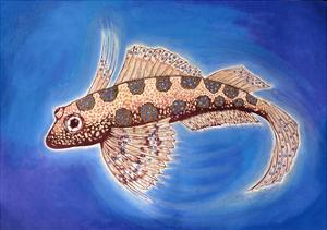 Dragonet Fish, 1999 by Nat Morley