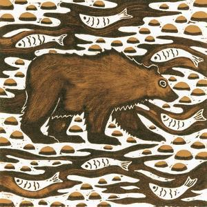 Fishing Bear, 2001 by Nat Morley