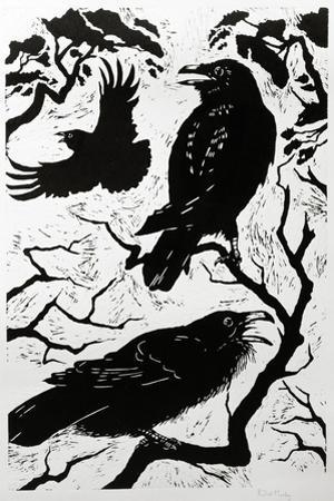 Ravens, 1998 by Nat Morley