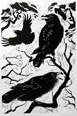 Ravens, 1998 by Nat Morley