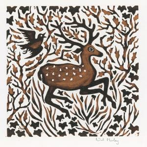 Woodland Deer, 2000 by Nat Morley