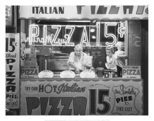 Hot Italian Pizza by Nat Norman
