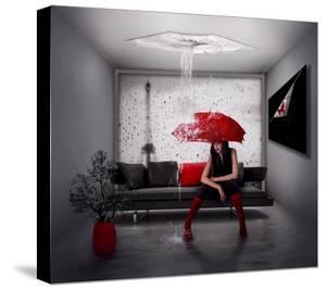Rain In Paris by Natalia Simongulashvili