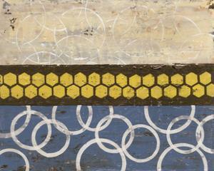 Honey Comb Abstract I by Natalie Avondet